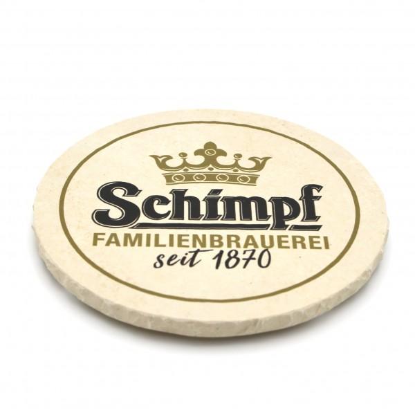 Brauerei Schimpf Remmingsheim Steinuntersetzer rund einzeln