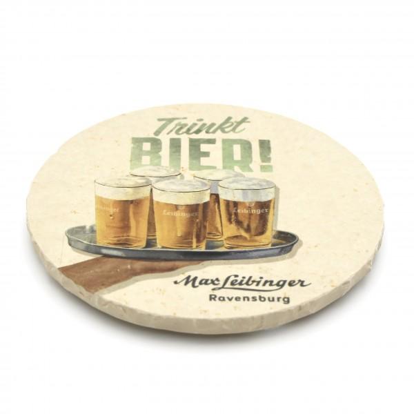 Brauerei Leibinger Steinuntersetzer rund einzeln