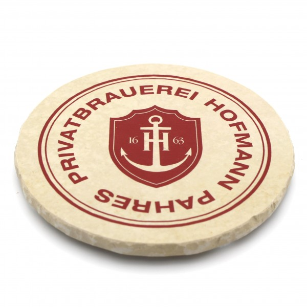 Privatbrauerei Hofmann Phares - Natursteinuntersetzer