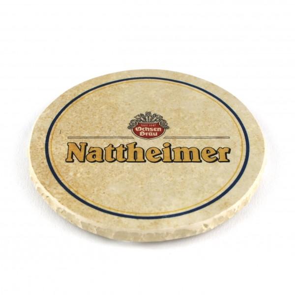 Nattheimer Brauerei Schlumberger Natursteinuntersetzer