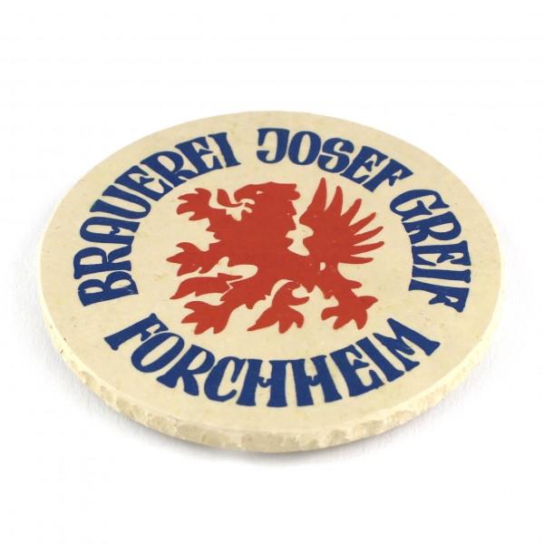 Brauerei Greif Forchheim Natursteinuntersetzer