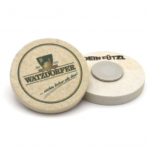 Watzdorfer - Kühlschrankmagnet 48 mm
