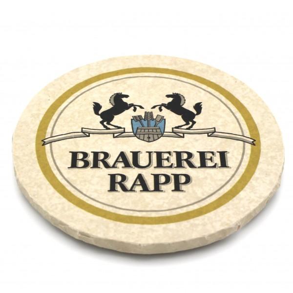 Brauerei Rapp Steinuntersetzer rund einzeln