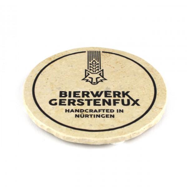 Bierwerk Gerstenfux - Natursteinuntersetzer