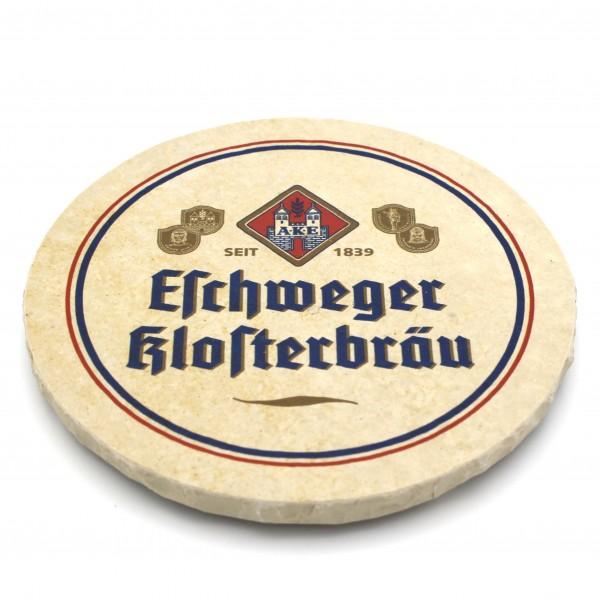 Eschweger Klosterbräu Steinuntersetzer rund einzeln