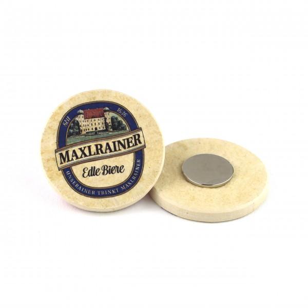 Maxlrainer - Kühlschrankmagnet rund