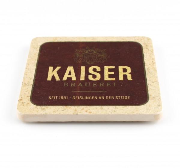 Kaiser Brauerei Steinuntersetzer