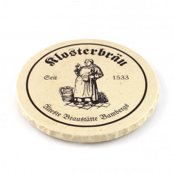 Klosterbräu Steinuntersetzer