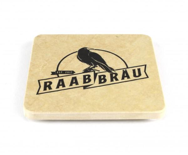 Raab Bräu - Natursteinuntersetzer