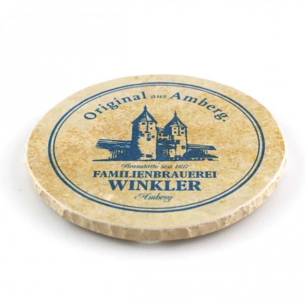Winkler Bräu Amberg Steinuntersetzer