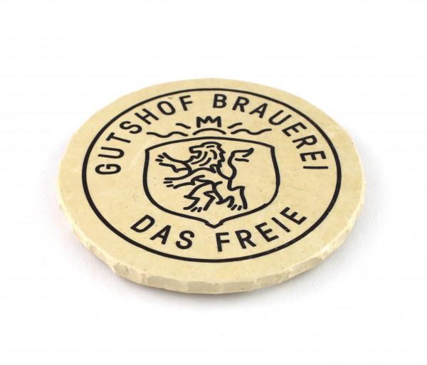 """Gutshof Brauerei """"Das Freie"""" - Natursteinuntersetzer"""