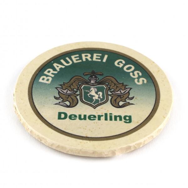 Brauerei Goss Deuerling Natursteinuntersetzer
