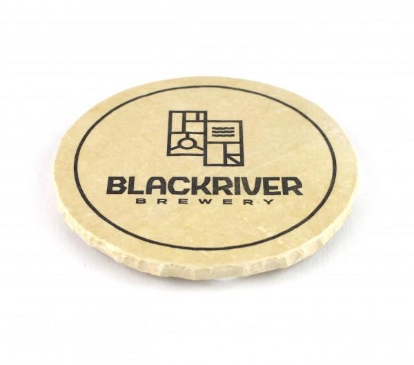 Blackriver Brewery - Natursteinuntersetzer