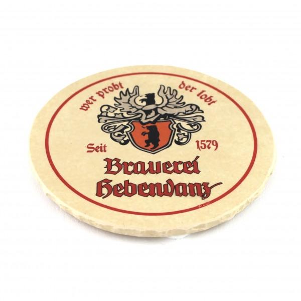 Brauerei Hebendanz Steinuntersetzer rund