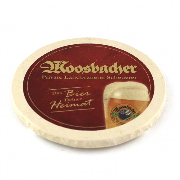 Moosbacher - Natursteinuntersetzer