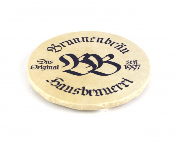 Brunnen Bräu - Natursteinuntersetzer