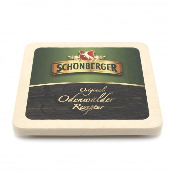 Schönberger Bier - Natursteinuntersetzer