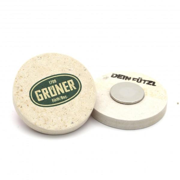 Grüner - Kühlschrankmagnet 48 mm
