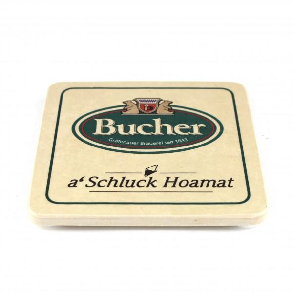 Bucher Bräu - Natursteinuntersetzer