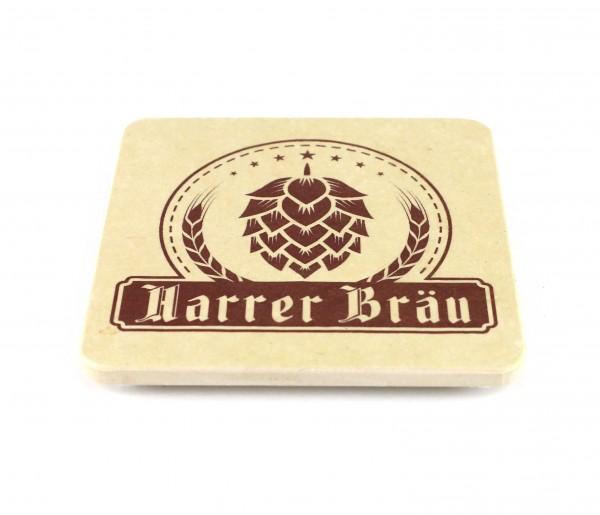 Harrer Bräu - Natursteinuntersetzer