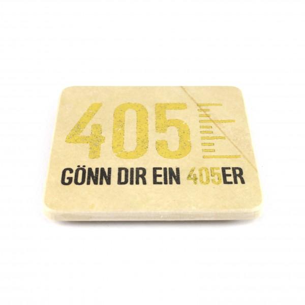 405er Brauerei - Natursteinuntersetzer