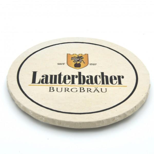 Lauterbacher Burgbräu Steinuntersetzer rund einzeln