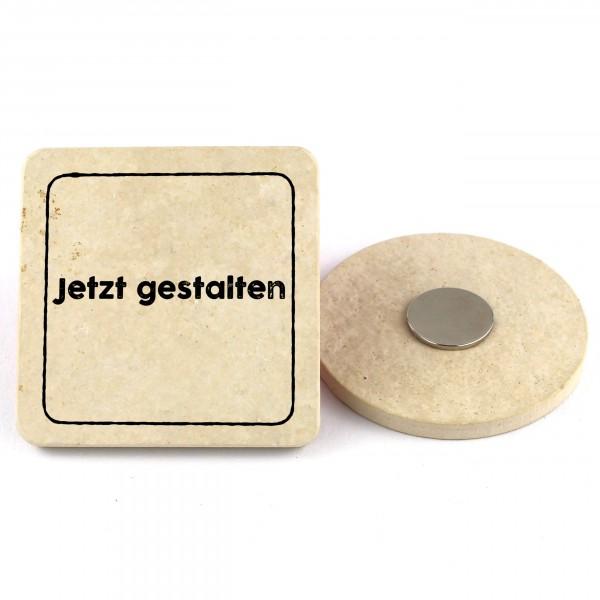 Dein Magnet - Quadratisch mit Rand 6,5cm
