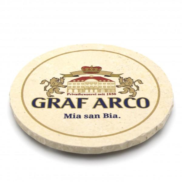 Graf Arco Steinuntersetzer rund einzeln