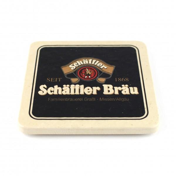 Schäffler Bräu - Natursteinuntersetzer