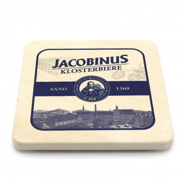 Jacobinus Klosterbier - Natursteinuntersetzer