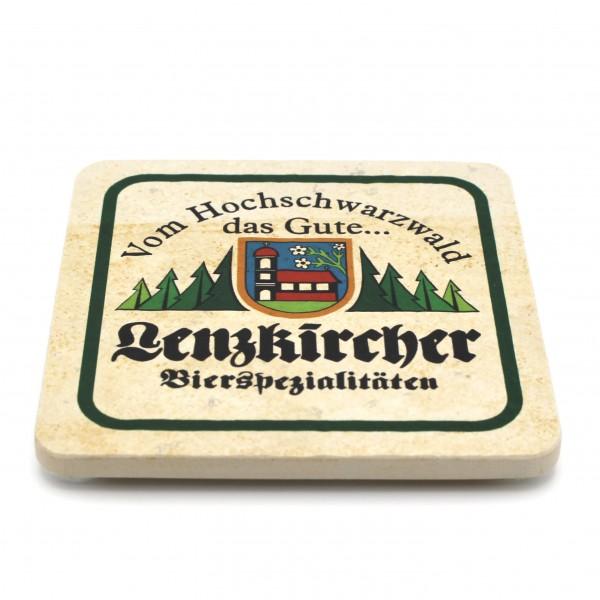 Brauerei Rogg Steinuntersetzer eckig einzeln