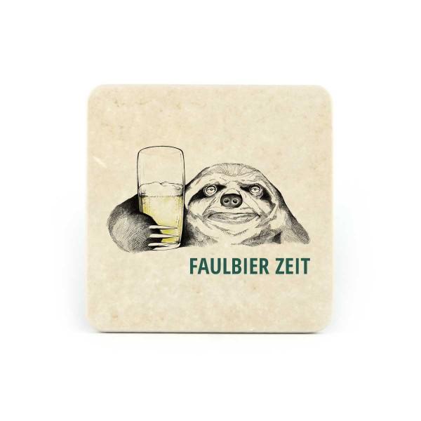 WBY-Faulbierzeit - Natursteinuntersetzer