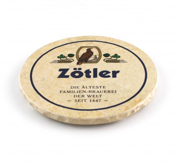 Zoetler Steinuntersetzer rund