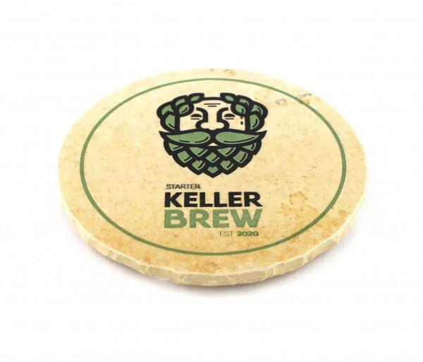 Starter Keller Brew - Natursteinuntersetzer