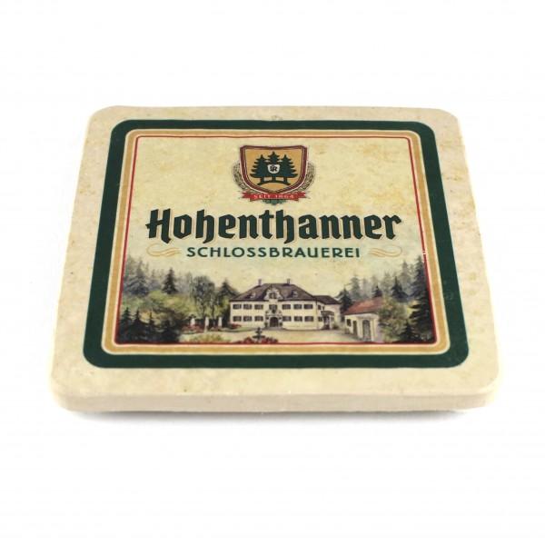 Hohenthanner Schlossbrauerei Natursteinuntersetzer