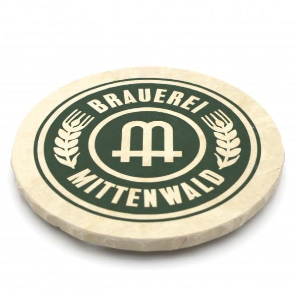 Brauerei Mittenwald Steinuntersetzer rund