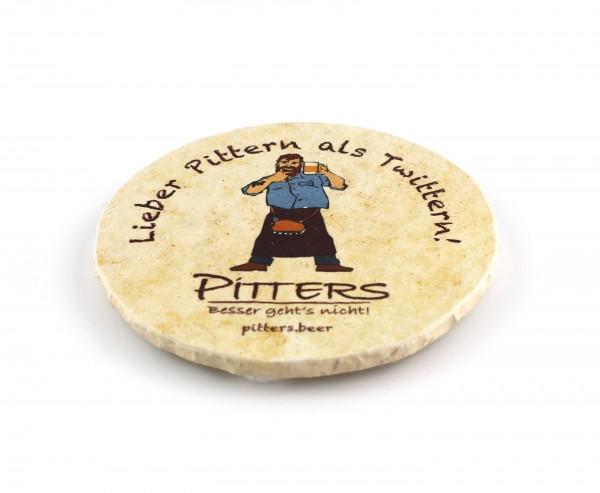 Pitters - Natursteinuntersetzer