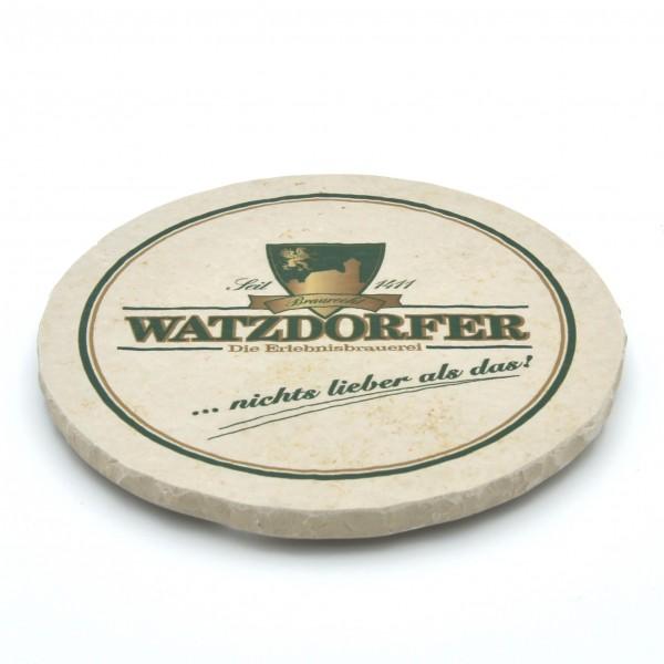 Watzdorfer Steinuntersetzer rund einzeln