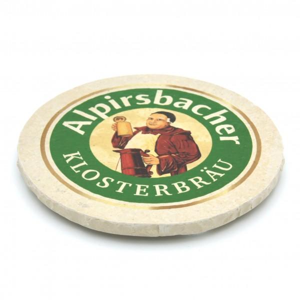 Alpirsbacher - Natursteinuntersetzer