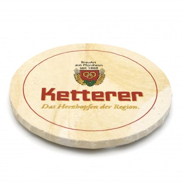 Ketterer Pforzheim Steinuntersetzer rund einzeln