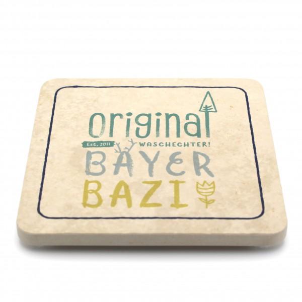 WBY- Bayer Bazi - Natursteinuntersetzer