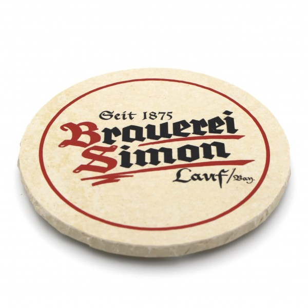Brauerei Simon Lauf Steinuntersetzer rund einzeln