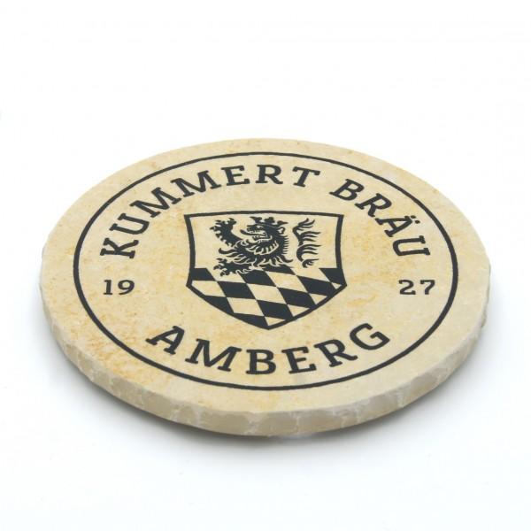 Kummert Bräu Amberg - Natursteinuntersetzer