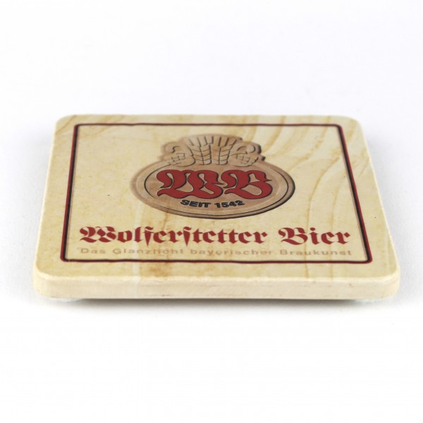 Wolferstetter Bier - Natursteinuntersetzer