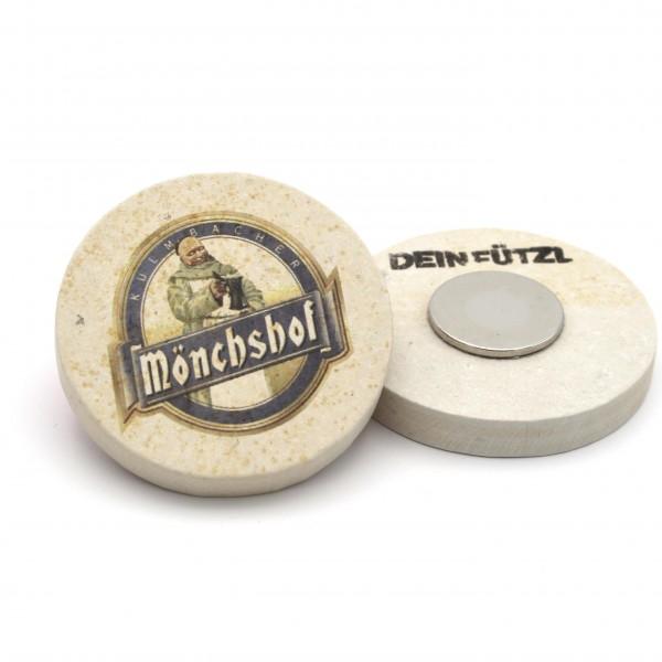 Kulmbacher Mönchshof - Kühlschrankmagnet 48 mm