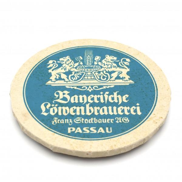 Löwenbrauerei Passau - Natursteinuntersetzer