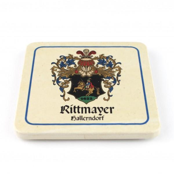 Brauerei Rittmayer Steinuntersetzer