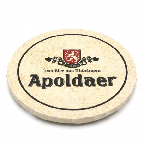 Vereinsbrauerei Apolda - Natursteinuntersetzer