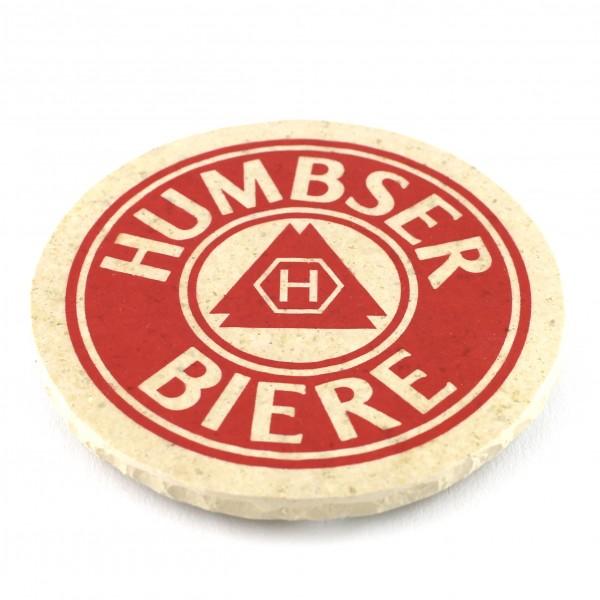 Humbser Biere Steinuntersetzer rund