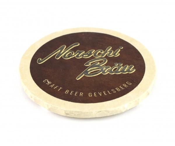 Norschi Bräu - Natursteinuntersetzer